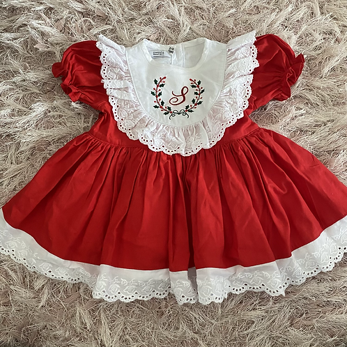 Red Personalised Christmas Dress