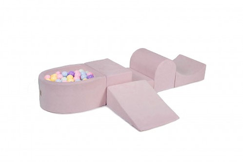 Foam Playset with Ball Pit