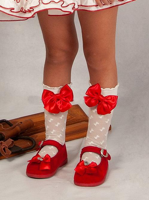 Sonata Bow Socks