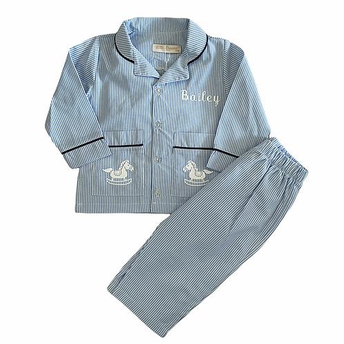 Rocking Horse Button Up Pyjamas
