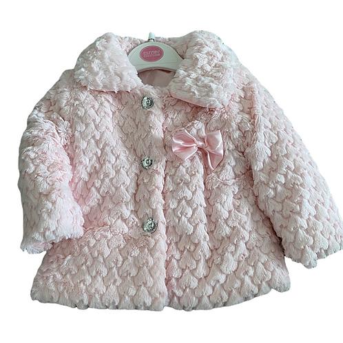 Pink Fur Bobble Jacket