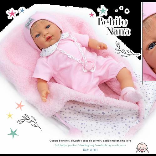 Bebito Doll with Sleeping Bag