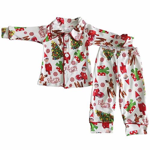Boys 'Elf on the Shelf' Pyjamas