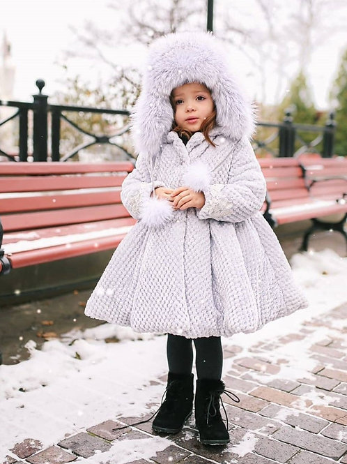 Sonata Grey Victoria Coat