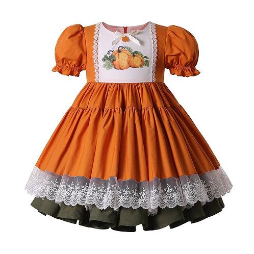 Autumn Pumpkins Dress