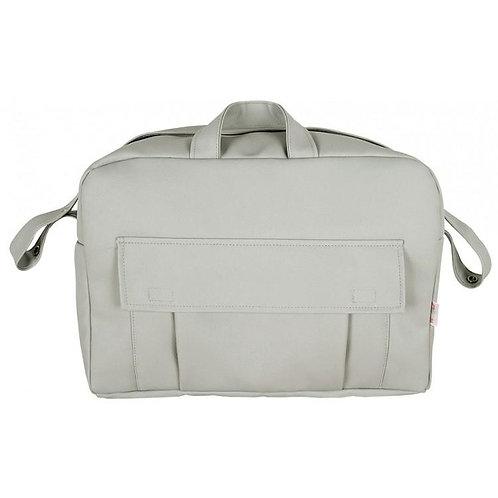 Grey Pocket Front Changing Bag