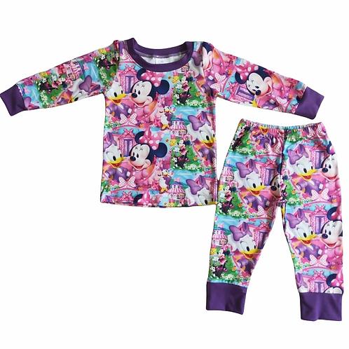 Minnies Bow Toons Pyjamas/Loungewear