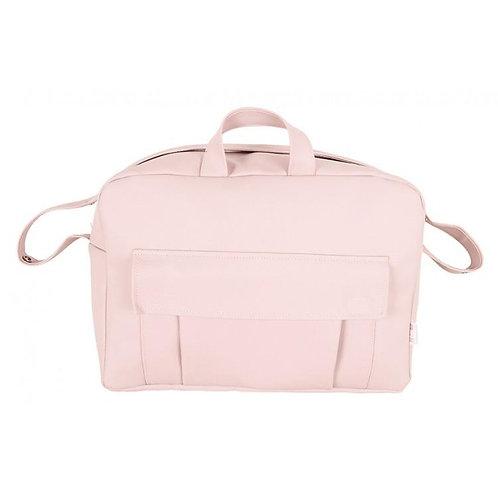 Pink Pocket Front Changing Bag