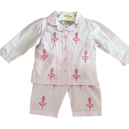 Ballerina Button Up Pyjamas