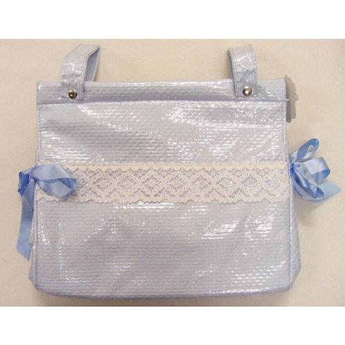 Blue Plastic Coated Changing Bag