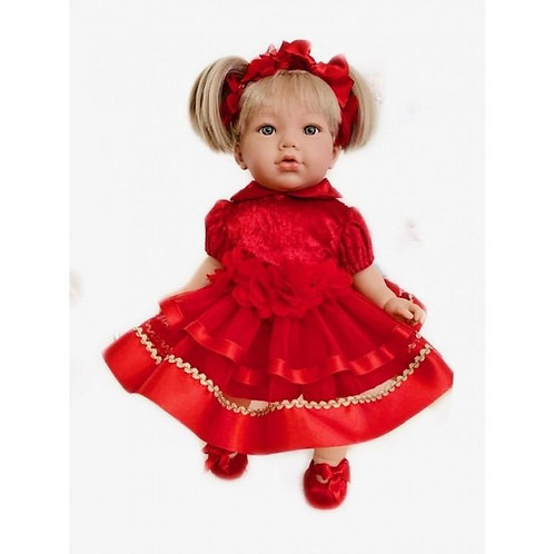 Red Christmas Outfit Doll