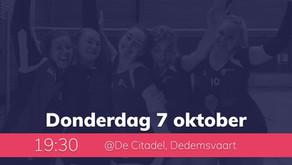 Dames 1 wint in Dedemsvaart!