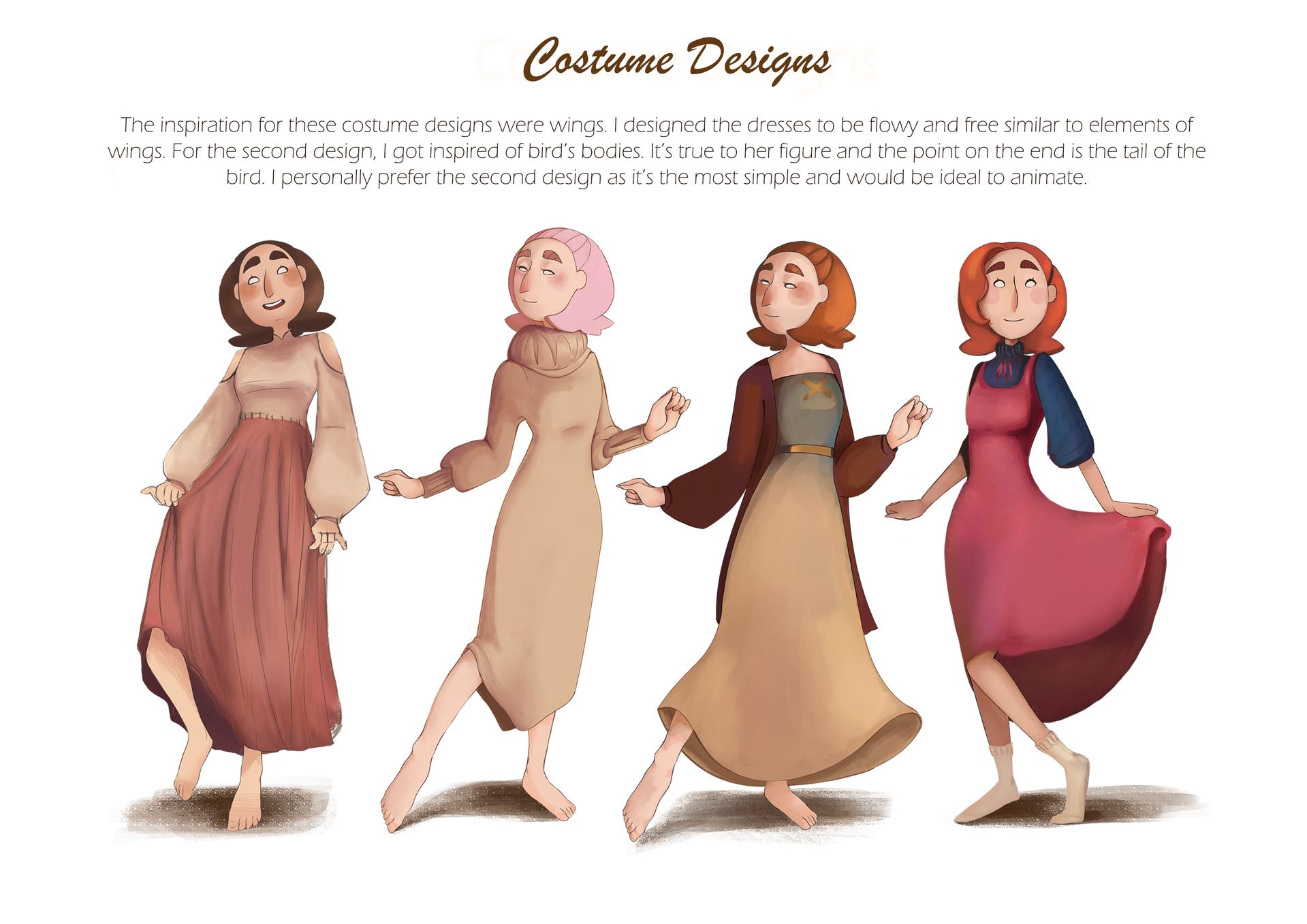 Costume Designs 2
