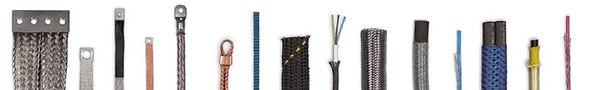 tressages du dorlay connexions électriques gaines tressées tresses techniques métalliques textiles