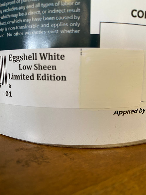 Low Sheen paint | Eggshell White