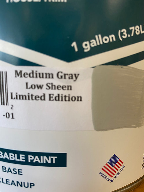 Low Sheen paint | Medium Gray