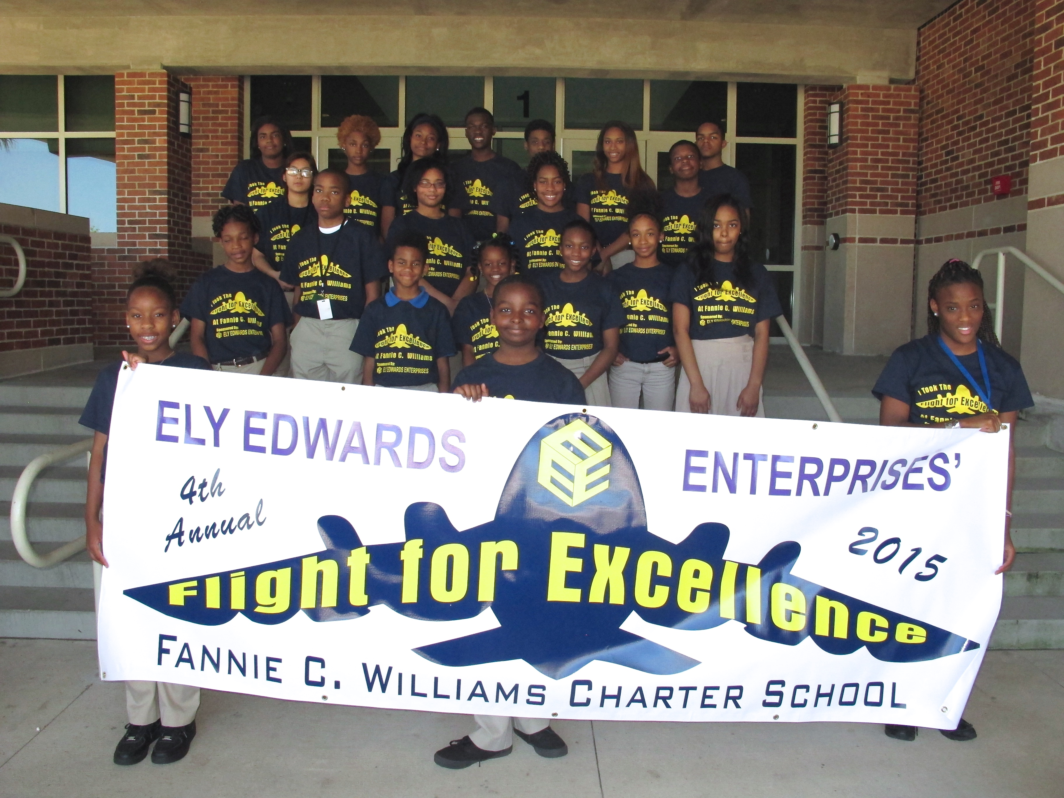 Students with Banner