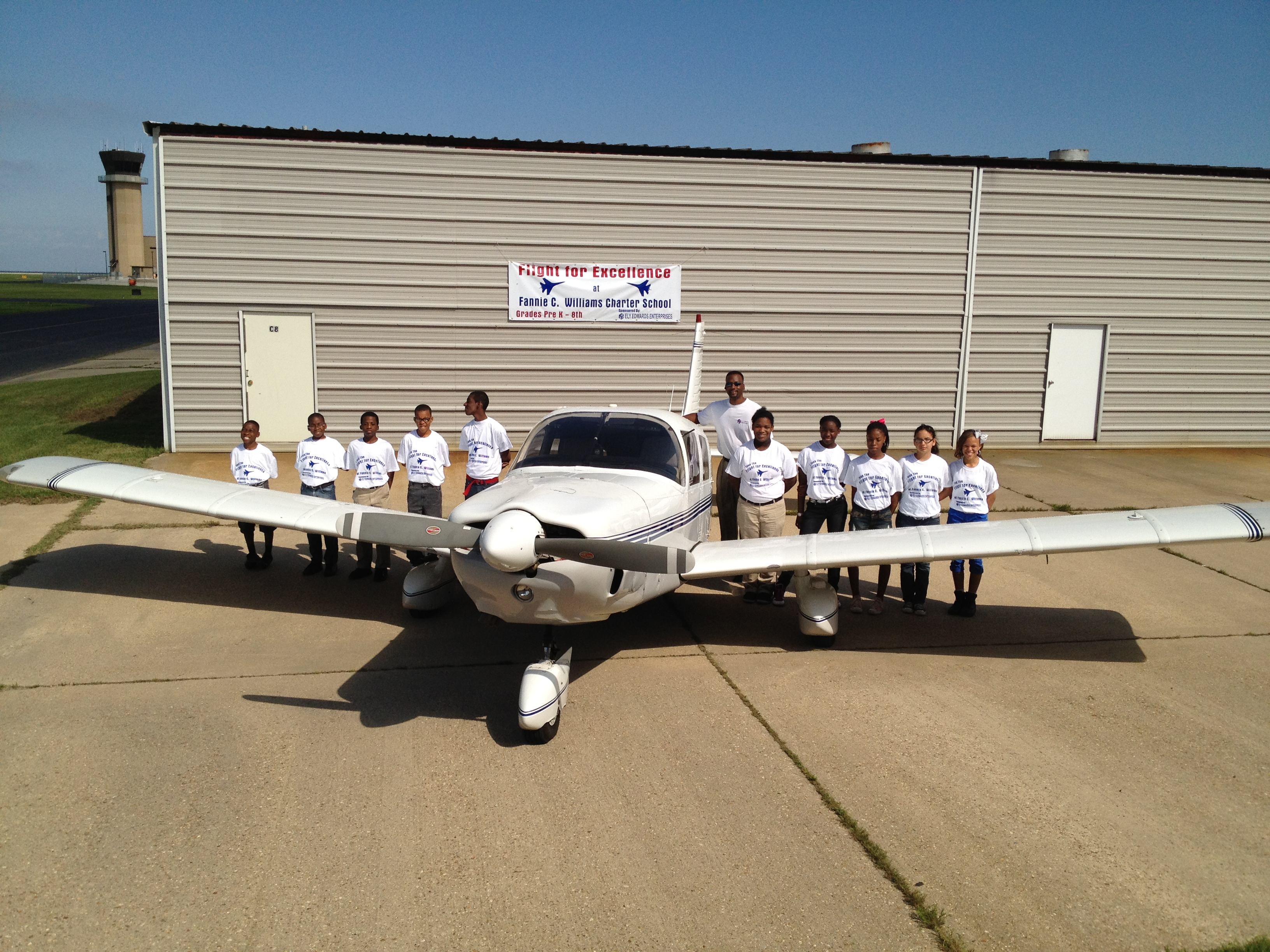 Aircraft and Fannie C. Kids