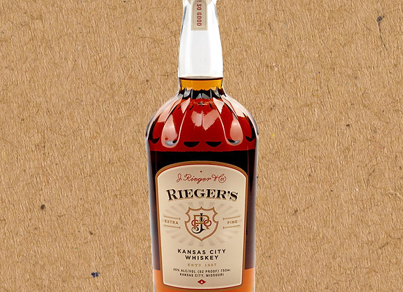 J. Rieger & Co Rieger's Extra Fine / Kansas City Whiskey (DC ONLY)