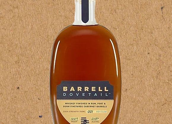 Barrell Dovetail / Whiskey Finished in Rum, Port, & Dunn Cabernet Barrels