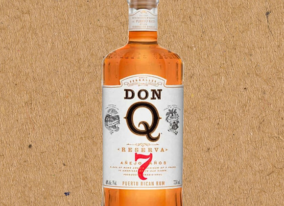 Don Q Anejo / 7 year aged Puerto Rican Rum
