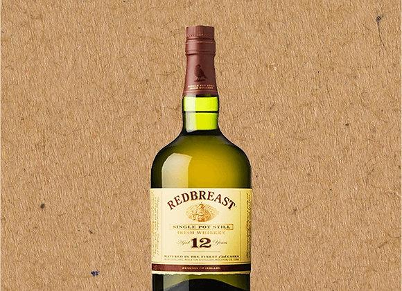 Redbreast Single Pot Still / 12 Year Aged Irish Whiskey