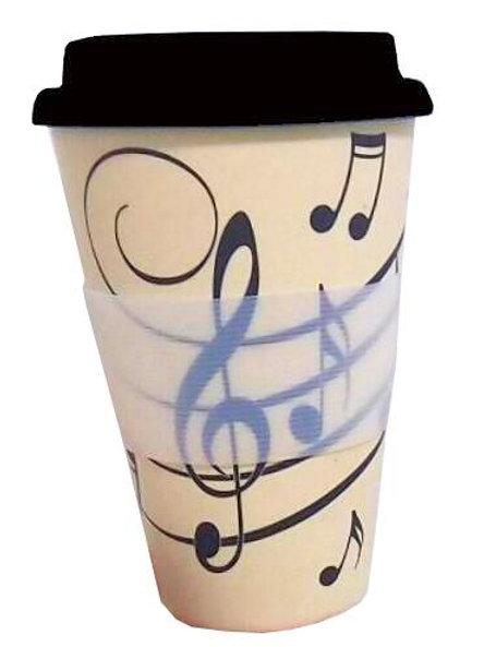 Music Notes Travel Mug