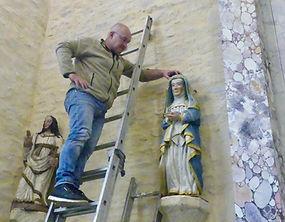 Réinstallation Sainte Femme