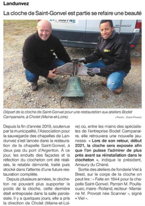 Ouest-France 20/11/2020