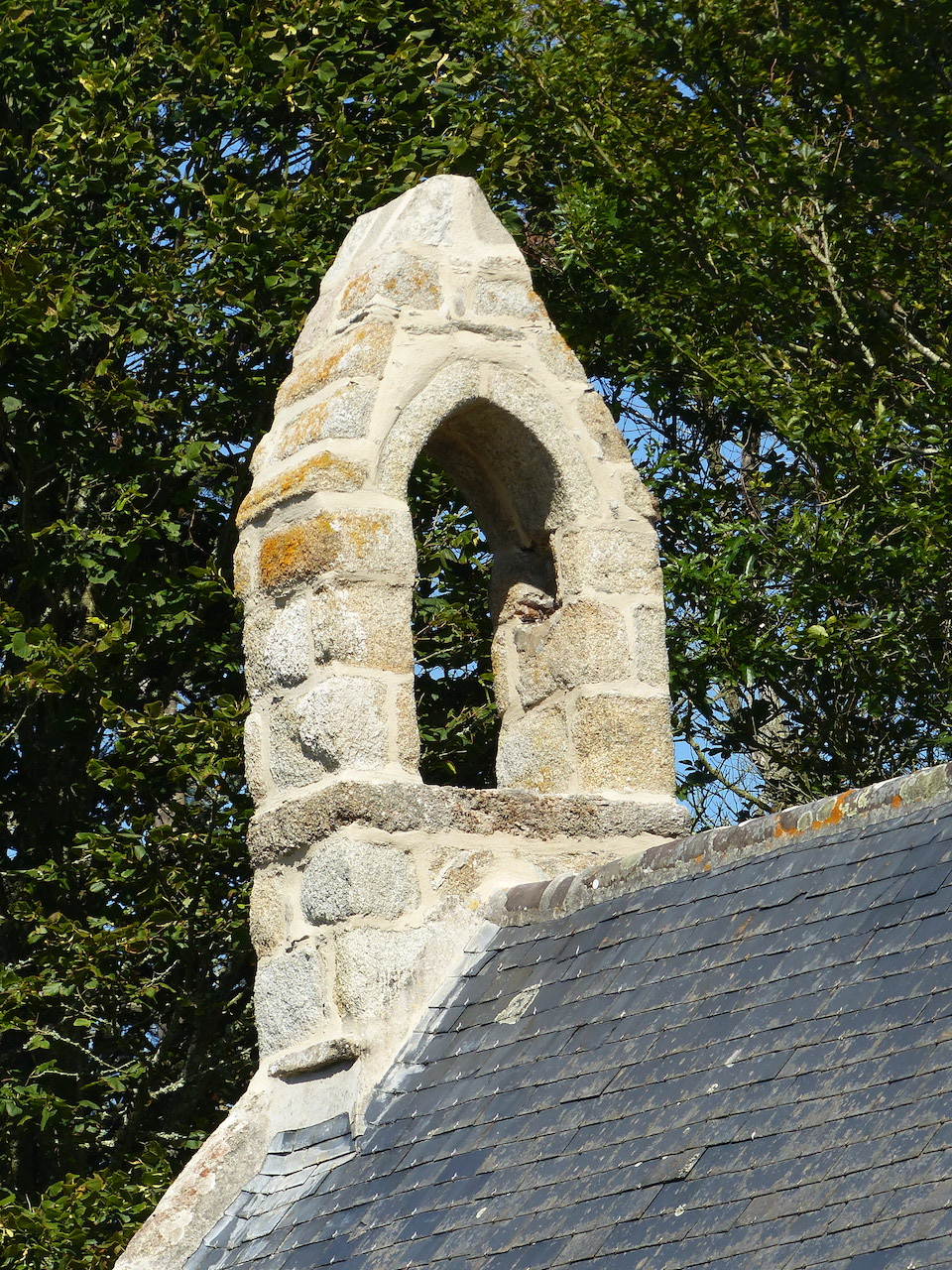 Chapelle St Gonvel - clocher