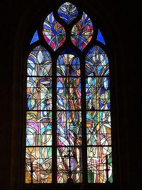 Vitrail abside Kersaint