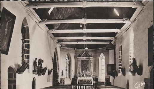 La nef, avant les travaux de 1995