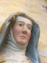 La Sainte Femme, détériorations de la tê