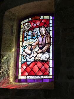 Vitrail de St Samson