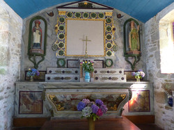 Chapelle St Samson, intérieur 2 août 2020
