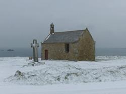 Saint-Samson sous la neige, février 2021