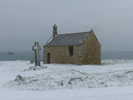 Nos chapelles sous la neige !
