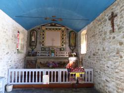 Chapelle St Samson, intérieur 1 août 2020