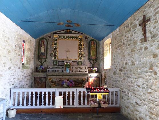 Chapelle St Samson, intérieur 1 (août 20