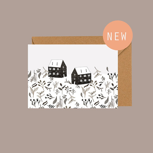 New Home / Just to say card