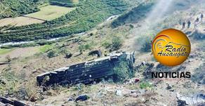 """ACCIDENTE DE EMPRESA DE TRANSPORTES """"FLORES"""" EN CARRETERA INTEROCEÁNICA SUR EN MARCAPATA."""
