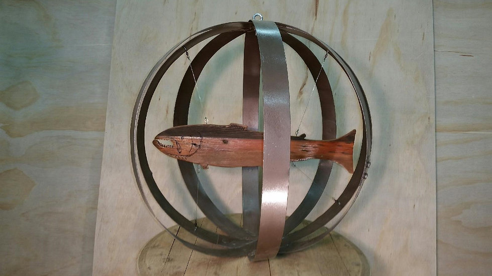 Decorative Steelhead Orb