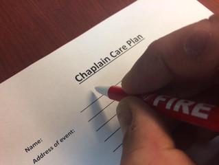 Chaplain Care Plans