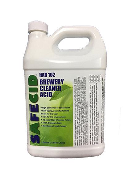 Safecid HAR102 Acid Brewery Cleaner - Gallon