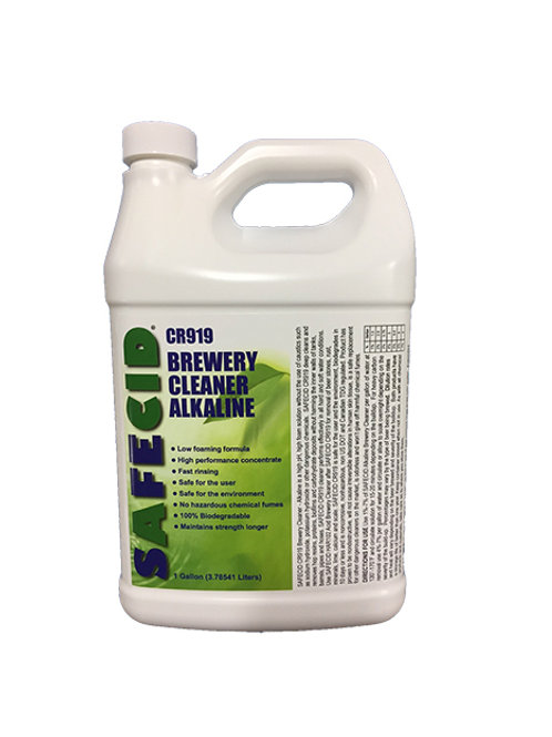 Safecid CR919 Alkaline Brewery Cleaner - Gallon