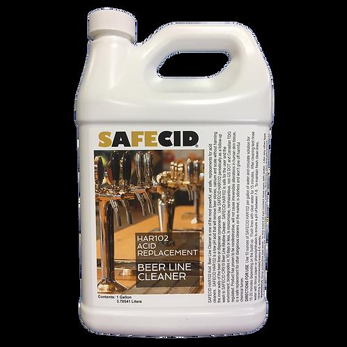 Safecid HR102 Acid Beer Line Cleaner (Gallon) FREE SHIPPING