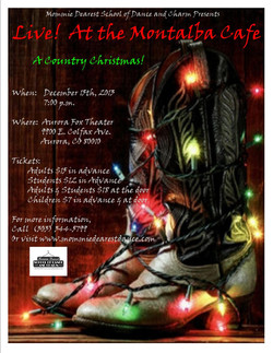 Flier for 2013 Holiday Show