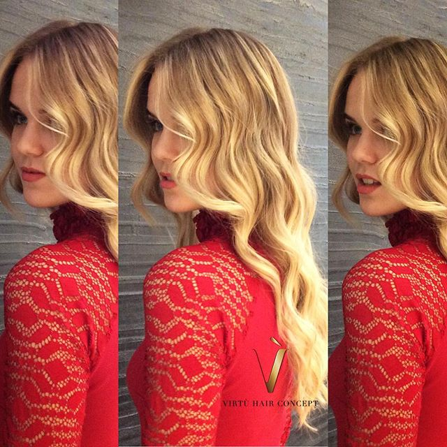 Waves blondes ✨_#milano _#parrucchierimi