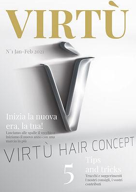 Magazine Virtù primo numero Gennaio Febbraio 2021