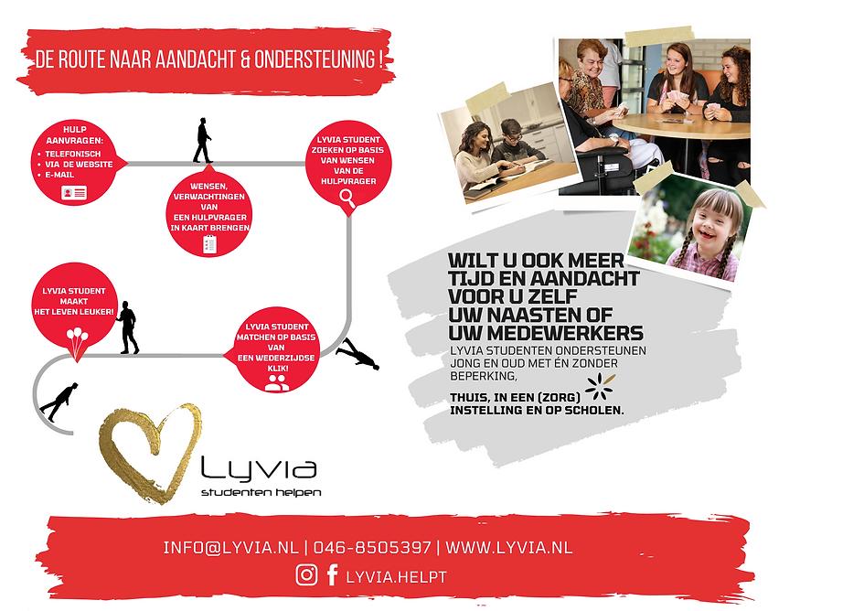 Lyvia studenten ondersteunen Jong en oud